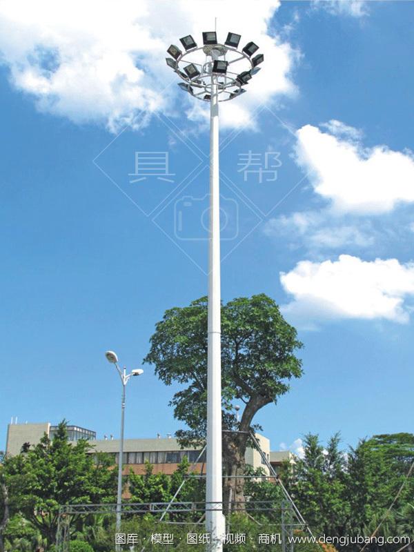 高中杆灯-00281